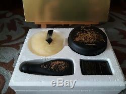 Shiseido Zen Fragrance Box Set Zen Dusting Powder 1.8 oz, Made in Japan. New