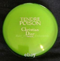 Tendre Poison Dior Huge 120gm Perfume Dusting Powder Rare Vintage Discontinued