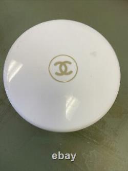 Unopened Chanel No 5 Vintage Bath Perfumed Powder 8oz withDusting Puff Applicator