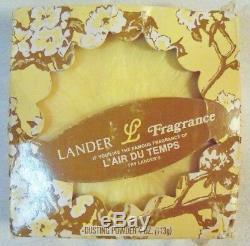 VINTAGE L'Air Du Temps Dusting Powder 4.0 Oz. Lander L Fragrance NEW old sealed