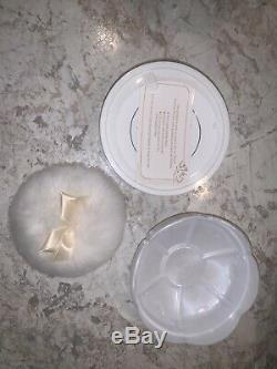 VINTAGE L'Air Du Temps Nina Ricci perfume body dusting powder LARGE 6oz new Seal