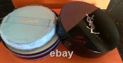 VINTAGE Rive Gauche Yves Saint Laurent Perfume SEALED Dusting Powder 6 oz Boxed