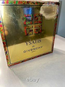 VINTAGE YSATIS DE GIVENCHY 7 OZ PERFUMED DUSTING POWDER sealed