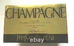 VINTAGE Yves Saint Laurent Champagne Perfumed Dusting Powder 5.2oz NEW SEALED