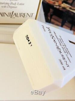VTG New Authentic Y by Yves Saint Laurent Perfumed Dusting Powder & Body Lotion