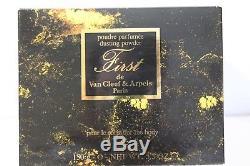 Van Cleef & Arpels First Perfumed Dusting Body Powder Poudre Perfume Sealed