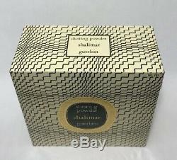 Vintage 1967 Guerlain Shalimar Perfumed Dusting Powder 8.0 oz SEALED Rare HTF