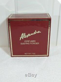 Vintage Alexandra deMarkoff Perfumed Dusting Powder 7oz Sealed
