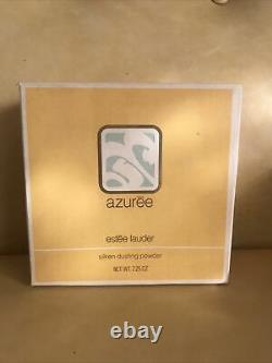 Vintage Azuree Estee Lauder Perfume Dusting Powder