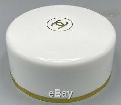 Vintage CHANEL No 5 Perfumed Dusting Body Bath Powder 8 Oz withPuff NEVER OPENED