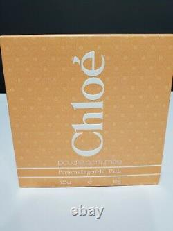 Vintage CHLOE Lagerfeld Parfums Perfumed Dusting POWDER 5.25 Oz SEALED UK Made