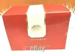 Vintage CINNABAR Perfumed Body Dusting Powder 6oz Estee Lauder Women's Fragrance