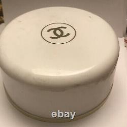 Vintage Chanel No. 5 Bath Dusting Powder 4 oz Full Unused Paper Seal With Puff