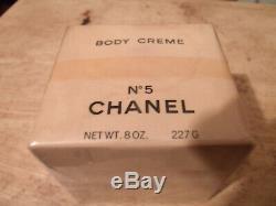 Vintage Chanel No. 5 Perfumed Body Bath Dusting Powder 8 Oz NEW Sealed rare