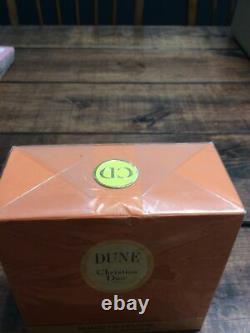 Vintage Christian Dior DUNE Perfumed Dusting Powder 5.3 oz Size