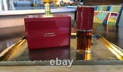 Vintage Cinnabar Estee Lauder 50ml-1.7oz Fragrance Spray With Dusting Powder Box