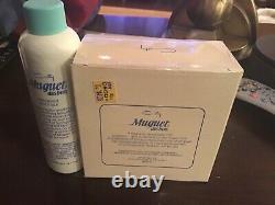 Vintage Coty Muguet des Bois Fragrant Body Silk And Dusting Powder Set 4& 5.7 Oz
