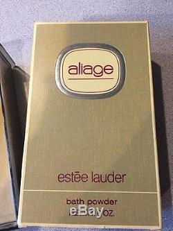 Vintage ESTEE LAUDER CINNABAR Perfumed Dusting 6OZ Powder Sealed