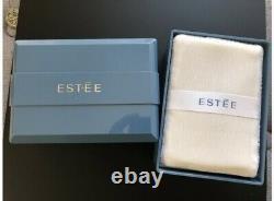 Vintage ESTEE LAUDER Perfumed Body Powder Dusting Talc 6oz 170g NIB HTF Blue Box