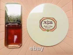 Vintage Forever Krystle Boxed Set Eau de Toilette Perfume & Dusting Powder NICE