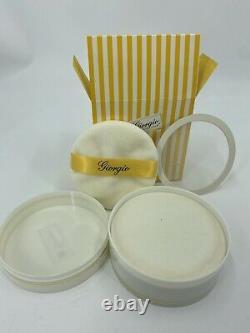 Vintage Giorgio Beverly Hills Extraordinary Perfumed Dusting Powder 5.0 Oz. NIB