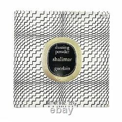 Vintage Guerlain Shalimar Perfumed Dusting Powder NEW SEALED Pristine 8 oz