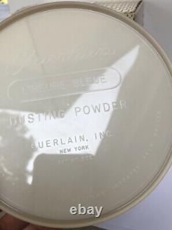Vintage Guerlain lheure Bleue Perfumed Dusting Powder SEALED 8 oz RARE