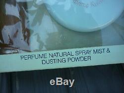 Vintage Helena Rubinstein Heaven Sent Gift Set Perfume Spray Dusting Powder NIB