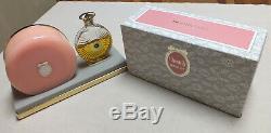 Vintage Houbigant Chantilly Gift Set Dusting Powder 3.0oz & EDT Perfume Rare