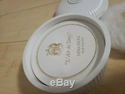 Vintage L'Air Du Temps Nina Ricci perfume body dusting powder LARGE 6oz new
