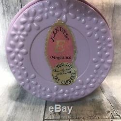 Vintage Lander's Dusting Powder Purple Fragrance E like Estée Lauder Never Used