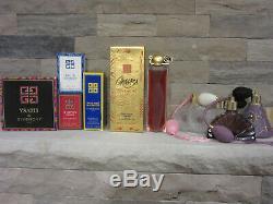 Vintage Lot Givenchy Perfume Dusting Powder Soap Ysatis Organza Insense Xeryus