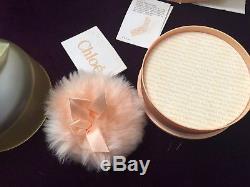 Vintage NEW BOX Original CHLOE 6 Oz Perfumed Bath Body Dusting Powder Lagerfeld