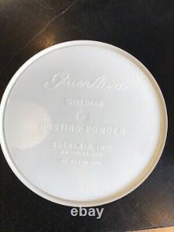 Vintage New Old Stock Guerlain Shalimar Dusting Powder In Original Box 8 OZ