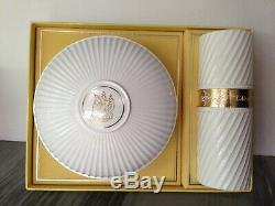Vintage Nina Ricci L'AIR DU TEMPS 6 Oz Perfumed Dusting Powder 2 Oz EDT Set 6.0