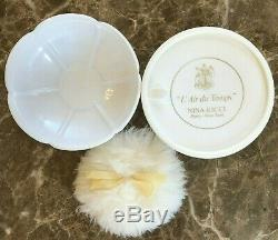 Vintage Nina Ricci L' Air Du Temps 6 oz Body Bath Dusting Powder New