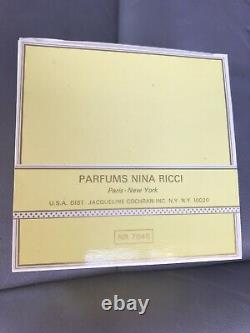 Vintage Nina Ricci L'Air Du Temps Dusting Powder 6 oz France NewithSealed