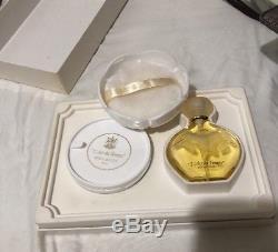 Vintage Nina Ricci L'Air Du Temps Dusting Powder Talc 3.5 Oz + Eau De Toilette