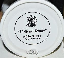 Vintage Nina Ricci L'Air Du Temps Perfumed Dusting Body Bath Powder 6 oz -New bo