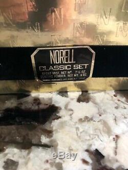 Vintage Norell Perfume Set Spray 2.5oz Dusting Powder 6.0oz Sealed NIB