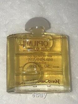 Vintage Opium Gift Bag Eau De Toilette Dusting Powder Soap Perfume Yves Laurent