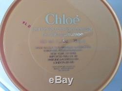 Vintage Original CHLOE 2.6 Oz Perfumed Bath Body Dusting Powder Lagerfeld BOXED