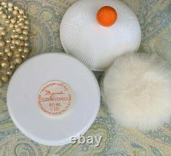 Vintage Perfume Nina Ricci Paris New York Dusting Powder BIGARADE Sealed 6 oz