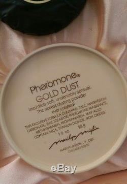 Vintage Pheromone By Marilyn Miglin Set Perfume 3.4 oz Dusting Powder + Soap