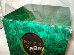Vintage Poison Christian Dior Perfumed Dusting Powder 7 Oz Sealed