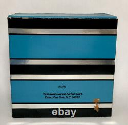 Vintage Rive Gauche Yves Saint Laurent Perfume Dusting Powder 6 oz Boxed HTF
