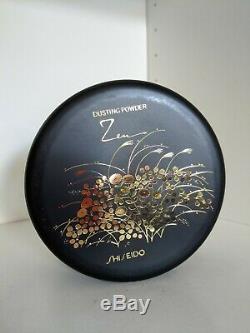 Vintage Shiseido Zen Original Formula Perfume Dusting Powder 3.5Oz Rare New