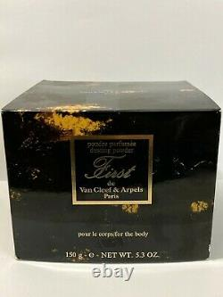 Vintage VAN CLEEF & ARPELS FIRST PERFUMED DUSTING POWDER 5.3OZ/150g