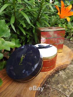 Vintage YSL Yves Saint Laurent OPIUM Perfumed DUSTING Body Powder 5.2 oz 150 g