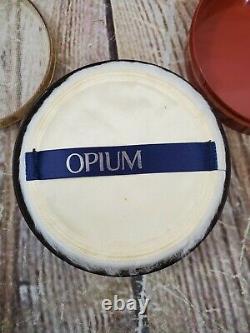 Vintage Yves Saint Laurent OPIUM Perfumed Dusting Powder 6oz
